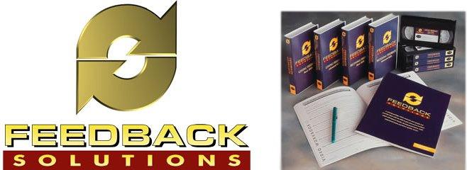 Feedback Solutions DVD Training Package, feedback training, feedback, communication, feedback communication training dvd video.