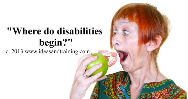 Disability training Image.