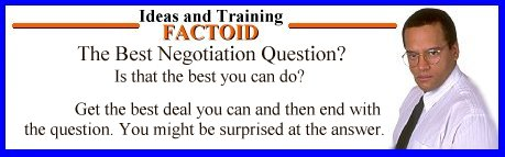 Negotiation Factoid