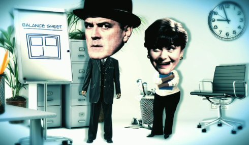 Balance Sheet Barrier 2013 DVD, the balance sheet barrier 2013 dvd, balance sheet barrier animated version dvd, balance sheet barrier john cleese dawn french dvd.