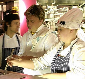 Jamie's Kitchen Fifteen Lessons on Teamwork Training DVD, Jamie Oliver Fifteen Lessons on Teamwork Training DVD, Jamie Oliver teamwork training dvd, jamie oliver teamwork dvd.